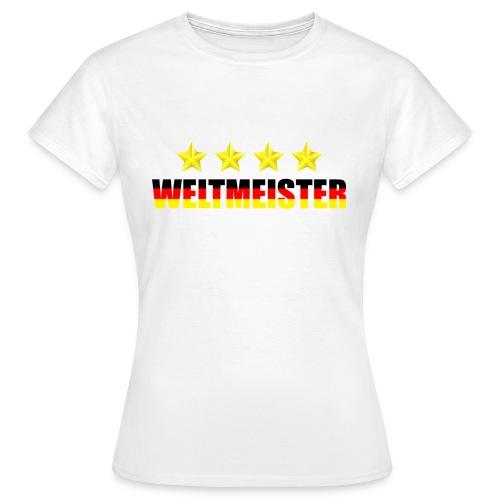 Weltmeister - Frauen T-Shirt