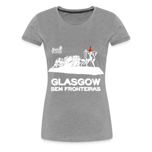 Brazil (São Paulo) WHITE  - Women's Premium T-Shirt