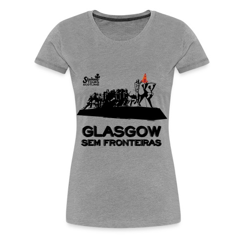 Brazil (São Paulo) BLACK  - Women's Premium T-Shirt