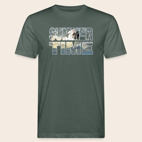 Mops Sommer T-Shirt - Männer Bio-T-Shirt