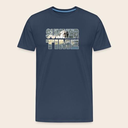 Mops Sommer T-Shirt - Männer Premium T-Shirt