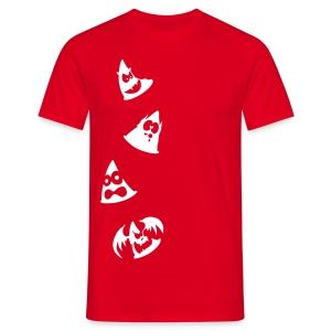 Camiseta Conos diabólicos - Camiseta hombre