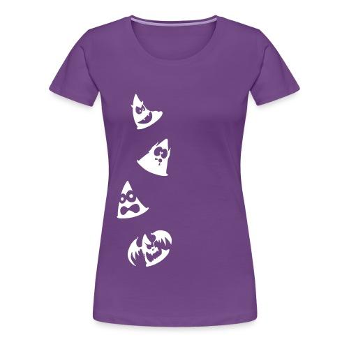 Camiseta Premium mujer Conos diabólicos - Camiseta premium mujer