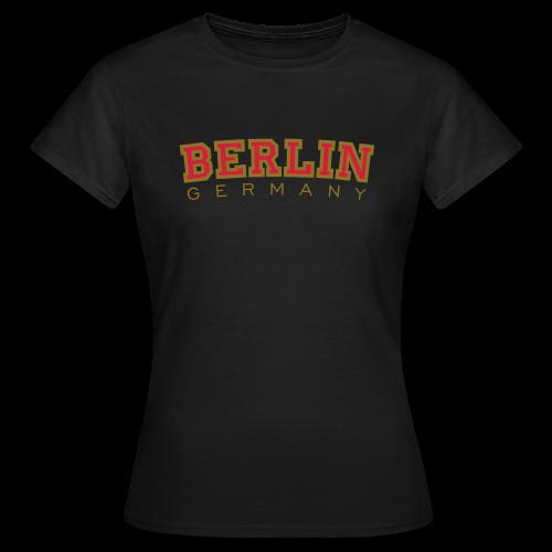 Berlin Germany T-Shirt (Damen/Schwarz) - Frauen T-Shirt