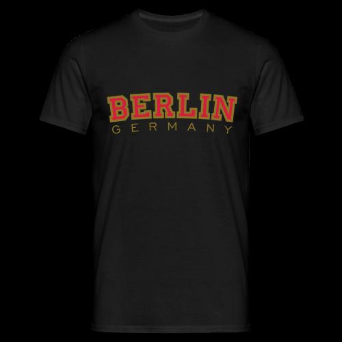 Berlin Germany T-Shirt (Herren/Schwarz) - Männer T-Shirt