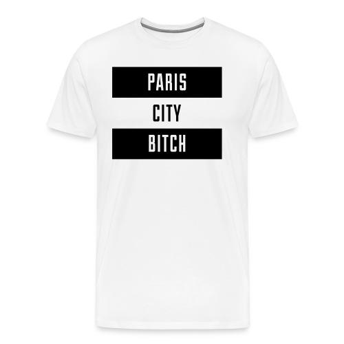 Paris City - T-shirt Premium Homme