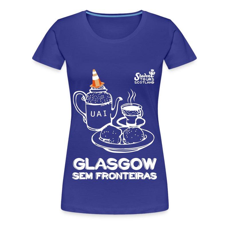 Brazil (Minas Gerais) WHITE - Women's Premium T-Shirt