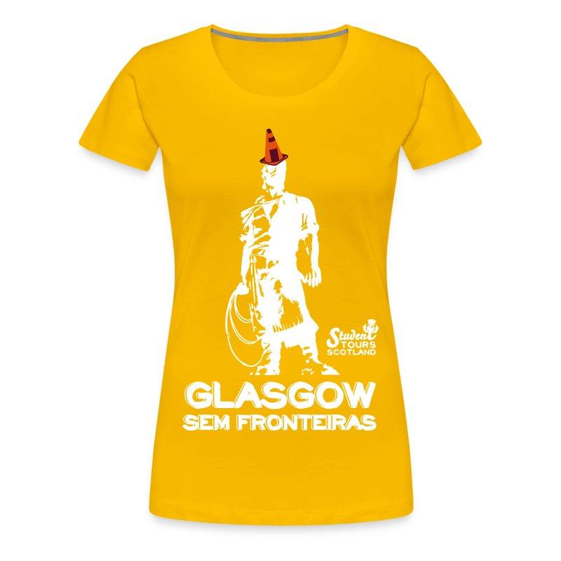 Brazil (Rio Grande do Sul) WHITE  - Women's Premium T-Shirt