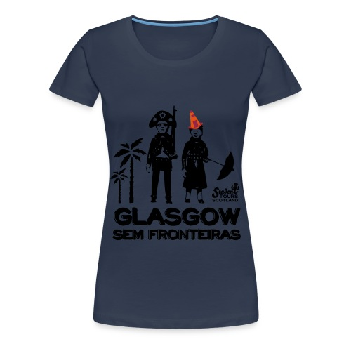 Brazil (Pernambuco) BLACK - Women's Premium T-Shirt