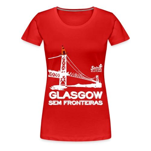 Brazil (Santa Catarina) WHITE - Women's Premium T-Shirt