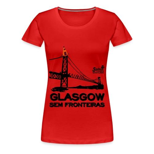 Brazil (Santa Catarina) BLACK  - Women's Premium T-Shirt