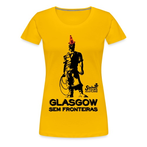 Brazil (Rio Grande do Sul) BLACK  - Women's Premium T-Shirt