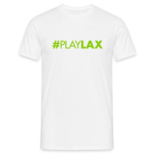 #playlax - Männer T-Shirt