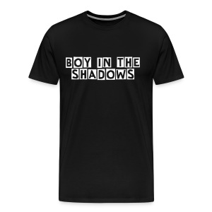 Men's Premium T-Shirt - Boy In The Shadows is a rock project from Sweden, that consists of Andreas Ericsson, who writes, performs, produces and records all the songs. All music is available on Spotify, iTunes, Amazon and many other online music stores and streaming sites.