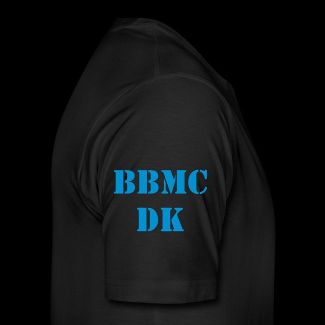 BBMCDK, Full-patch, XXXL Medlems T-shirt Sort