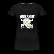 T-Shirts ~ Women's Premium T-Shirt ~ Yorkshire St Pauli logo shirt