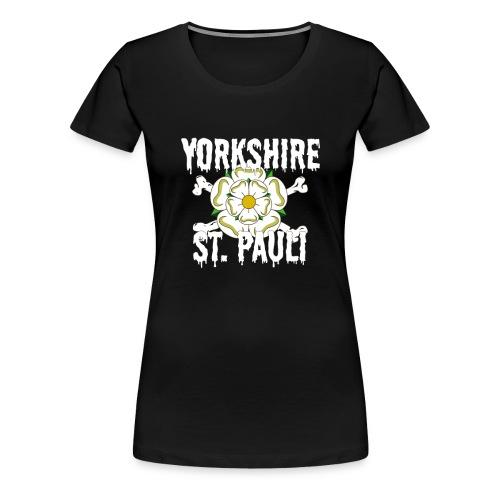 Yorkshire St Pauli logo shirt - Women's Premium T-Shirt