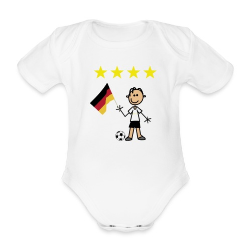 kicker - Baby Bio-Kurzarm-Body