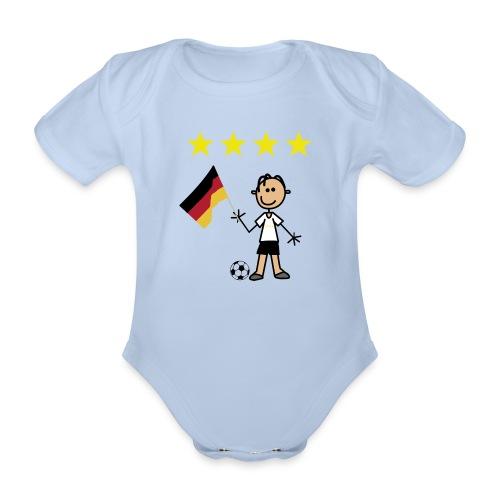 Weltmeister - Baby Bio-Kurzarm-Body