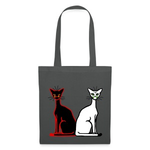 Sac shopping - 2 chats - Tote Bag