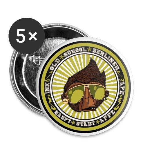 Hauptstadt Affe 5er PIN-SET (25mm) - Buttons klein 25 mm (5er Pack)