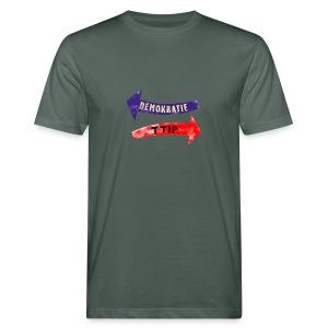 ttip - demokratie, bio, unisex - Männer Bio-T-Shirt