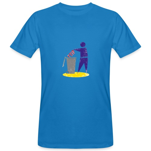 TTIP in die Tonne (Bio, Unisex) - Männer Bio-T-Shirt