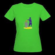 T-Shirts ~ Frauen Bio-T-Shirt ~ TTIP in die Tonne (Bio, Girly)