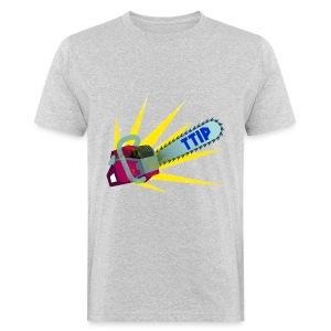 TTIP-Säge Unisex,bio - Männer Bio-T-Shirt