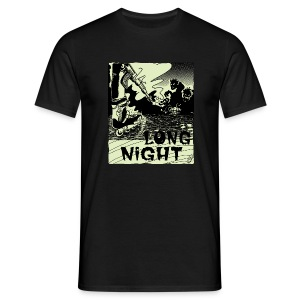 Camiseta hombre Long Night - Camiseta hombre
