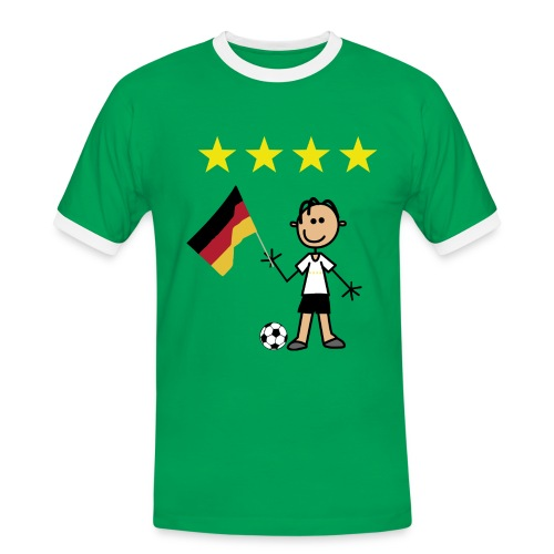 Held 2014  - Männer Kontrast-T-Shirt