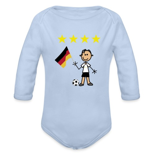 Wm  Kicker - Baby Bio-Langarm-Body