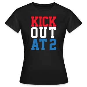 Kick Out At 2 (Women) - Women's T-Shirt