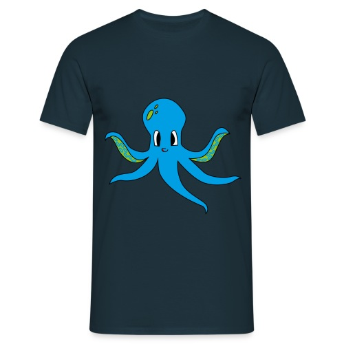 T-shirt homme poulpe - T-shirt Homme