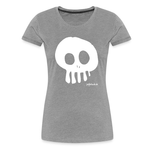 Skull - Women - Frauen Premium T-Shirt