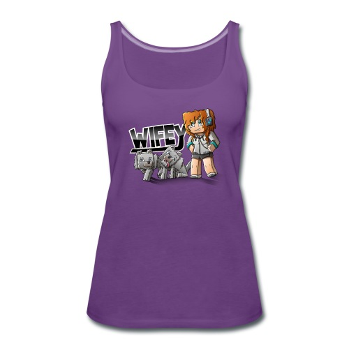 Women's Tank Top: Wifey - Women's Premium Tank Top