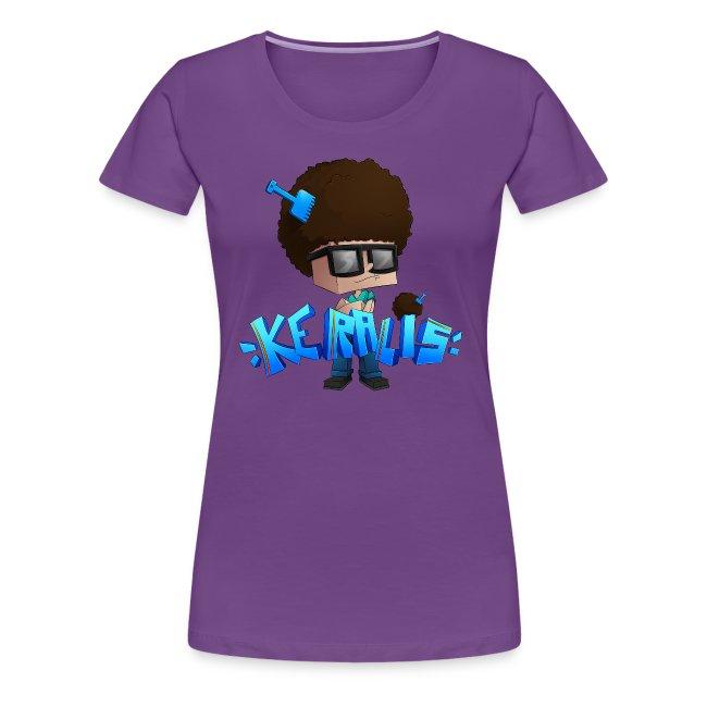 Women's Premium T-Shirt: Keralis Fro