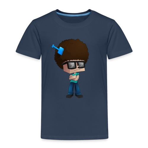 Kid's Premium T-Shirt: Fear The Fro - Kids' Premium T-Shirt