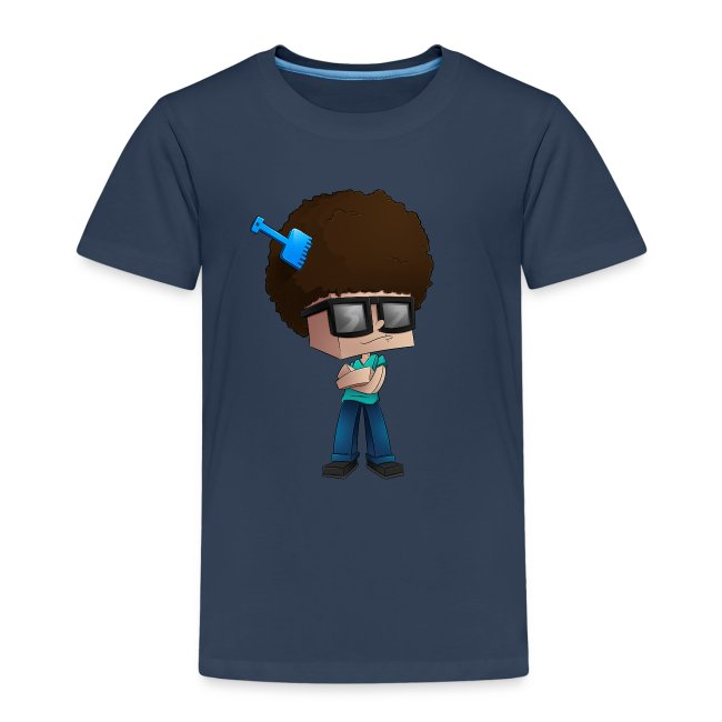 Kid's Premium T-Shirt: Fear The Fro