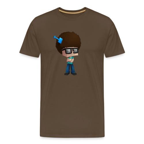 Men's Premium T-Shirt: Fear The Fro - Men's Premium T-Shirt