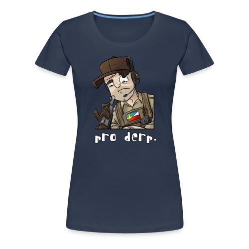 Women's Premium T-Shirt: Pro Derp Shooter - Women's Premium T-Shirt