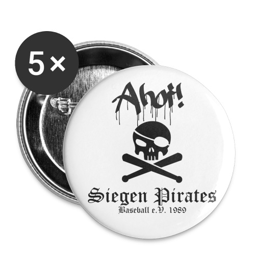 Ahoi! Buttons im 5er Pack - Buttons klein 25 mm