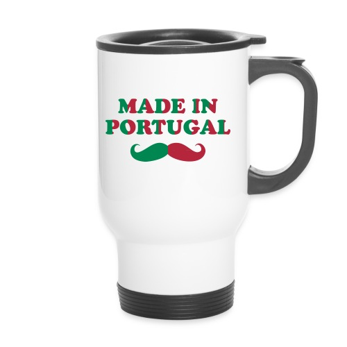 Mug Thermos 'Made in Portugal avec Moustache - Mug thermos