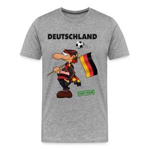 Fanshirt Deutschland - Red&Black Supporter - Männer Premium T-Shirt