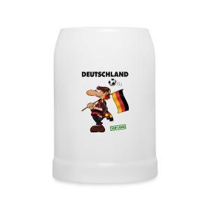 Fan Red Deutschland - Red&Black Supporter - Bierkrug