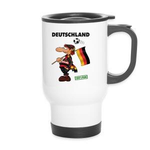 Fan Red Deutschland - Red&Black Supporter - Thermobecher