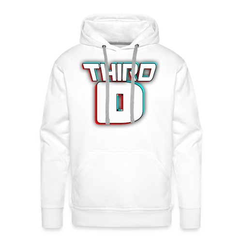 Enlarged Third D Swearshirt - Men's Premium Hoodie