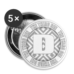 Third Dee Circular Badge - Buttons large 56 mm