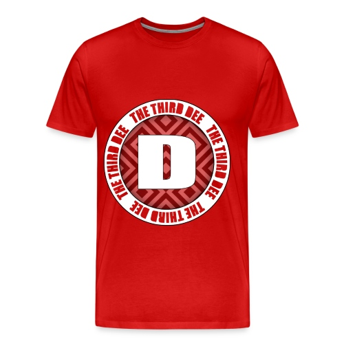 Third Dee Circular Shirt - Men's Premium T-Shirt