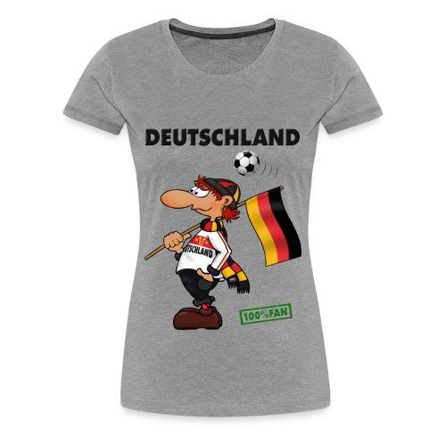 Fan Deutschland White&Red